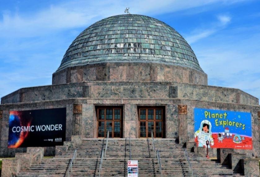 Two 8 K Digistar systems for Adler Planetarium